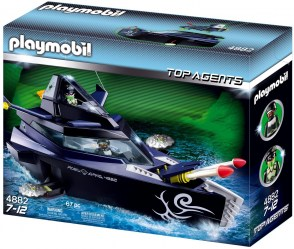 Playmobil 4882 Robo Gang Battle Yacht