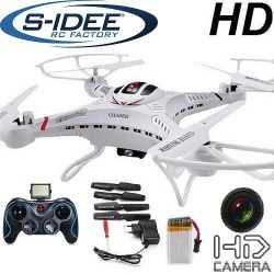 s-idee 01251 Quadrocopter S183C HD Camera